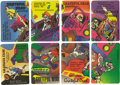 Music Memorabilia:Tickets, Grateful Dead Concert Backstage Pass Group of Eight (Grateful Dead Productions, 1992). A really nice set of passes for the G... (Total: 8 )