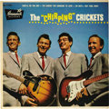 """Music Memorabilia:Recordings, Buddy Holly """"The Chirping Crickets"""" EP Brunswick 71036 (1957).Classic early Crickets' tunes include """"That'll Be The Day"""", """"..."""