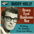 """Music Memorabilia:Recordings, Buddy Holly """"Brown Eyed Handsome Man"""" EP Coral 81193 (1963).Holly's last EP came out some four years after his tragic death..."""