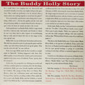 """Music Memorabilia:Recordings, """"The Buddy Holly Story"""" Mono LP Coral 57279 (1959). This is thefirst pressing, the rarer version with the black and red pri..."""