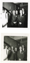 Music Memorabilia:Photos, Two Photos Taken With Buddy Holly's Camera. Two snapshots datedSeptember 1957, from an unknown engagement, possibly with Co...
