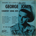 "Music Memorabilia:Recordings, George Jones ""The Grand Ole Opry's New Star"" LP Sparton 101 (Canada- 1958). Here's the Canadian version of the Possum's ver..."