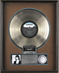 "Music Memorabilia:Awards, Kenny G ""Duotones"" Platinum Album Award. Presented to June Colbertto commemorate the sale of one million copies of the 1986..."