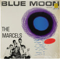 """Music Memorabilia:Recordings, The Marcels """"Blue Moon"""" LP Colpix 416 (1961). The interracialdoo-wop group made an auspicious debut with the title cut in 1..."""