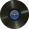 """Music Memorabilia:Recordings, Amos Milburn """"Please, Mr. Johnson"""" 78 Aladdin 3168 (1952). Milburn tore up the R&B charts in the late '40s and early '50s wi..."""