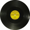 """Music Memorabilia:Recordings, Roy Orbison """"Ooby Dooby"""" 78 Sun 242 (1956). Roy Orbison (as theTeen Kings) had earlier recorded the song on the small label..."""