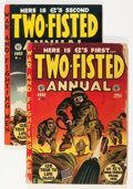 Golden Age (1938-1955):War, Two-Fisted Annual #1 and 2 Group (EC, 1952-53).... (Total: 2 ComicBooks)