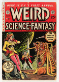 Golden Age (1938-1955):Science Fiction, Weird Science-Fantasy Annual #1 (EC, 1952) Condition: VG-....