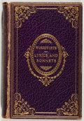 Books:Fiction, William Wordsworth. Lyrics and Sonnets of Wordsworth.Gibbings, 1903. Museum edition. Sixteenmo. Contemporary leathe...