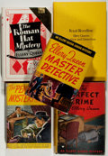 Books:Mystery & Detective Fiction, Ellery Queen. Group of Five Books. Various editions, 1941-1979. One without dust jacket. Good or better.... (Total: 5 Items)