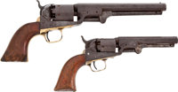 Two Colt Revolvers Belonging To Lt. William H. Sharp 8th Texas Cavalry Terry's Texas Rangers With Great Back Story