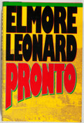 Books:Mystery & Detective Fiction, Elmore Leonard. SIGNED. Pronto. Delacorte, 1993. Signed bythe author. Near fine....