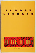 Books:Mystery & Detective Fiction, Elmore Leonard. SIGNED. Riding the Rap. Delacorte, 1995.Signed by the author. Near fine....