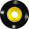 "Music Memorabilia:Recordings, Prisonaires ""Just Walking In The Rain"" 45 Sun 186 (1953). LegendaryR&B group's first Sun single isn't often found in this n..."