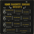 """Music Memorabilia:Recordings, R&B Groups """"Your Favorite Singing Groups"""" LP Hull 1002 Mono(1963). What a compilation of '50s/'60s vocal group gems! This i..."""