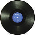 """Music Memorabilia:Recordings, Tennessee Jim """"Hold Me Tight"""" 78 Choice 852 (1957). Ok, we admit it - we have never seen this one before! Early Rock 'n Roll..."""