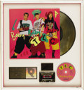 "Music Memorabilia:Awards, TLC ""Baby-Baby-Baby"" Gold Single Award. Presented to June Colbertto commemorate the sale of 500,000 copies of the 1992 top-..."