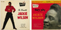 Music Memorabilia:Recordings, Jackie Wilson EP Group of 2 (Brunswick 1960). The most emotional,dynamic voice of the late '50s/ early '60s? If not Jackie,...