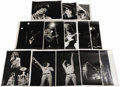 "Music Memorabilia:Photos, Original '70s Rock Star Photos. Set of 13 original, unpublishedb&w 8"" x 10"" concert photos of The Who, Creedence Clearwate..."