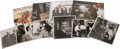 Music Memorabilia:Autographs and Signed Items, Bobby Hackett Signed Record and Photo Group. Fans of the melodiccornetist Bobby Hackett will surely enjoy this splendid off...