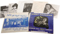 """Music Memorabilia:Autographs and Signed Items, Yank Lawson and Benny Goodman Signed Record and Photo Group. Letthe superlatives fly -- the stars of the """"World's Greatest ..."""