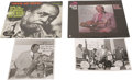 Music Memorabilia:Autographs and Signed Items, Buddy Tate Signed Record and Photo Group. Saxophonist Buddy Tatelearned his craft playing with territory bands around the A...