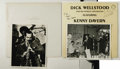 Music Memorabilia:Autographs and Signed Items, Dick Wellstood Signed Record and Photo Group. Pianist DickWellstood is joined by clarinetist Kenny Davern for a swingingse...