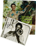 "Music Memorabilia:Autographs and Signed Items, Trummy Young Signed Record and Photo Group. Trombonist Trummy Youngis showcased in this offering. The lot features: ""Yours ... (Total:4 Items)"