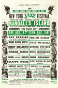 Music Memorabilia:Posters, New York Jazz Festival Handbill (Teddy Powell Productions, 1968).The Third Annual New York Jazz Festival, held on Randall's...