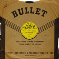 "Music Memorabilia:Recordings, B. B. King ""Miss Martha King"" 78 Bullet 309 (1949). Rare firstrelease of one of the all-time Blues greats. 1949 to 2006, 57..."