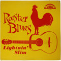 "Music Memorabilia:Recordings, Lightnin' Slim ""Rooster Blues"" LP Excello 8000 (1960). This is thebluesman's first album release, and the first time we've ..."