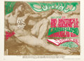 Music Memorabilia:Posters, Big Brother And The Holding Company Avalon Ballroom Concert PosterFD-52 (Family Dog Presents, 1967). The art of Michelangel...