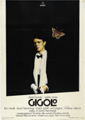 "Music Memorabilia:Posters, David Bowie ""Gigolo"" Movie Italian Two-Folio Poster (Gaumont,1980). A debonair David Bowie portrait is displayed on this hu..."
