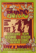 "Music Memorabilia:Posters, The Byrds/Loading Zone Fillmore Concert Poster BG-82 (Bill GrahamPresents, 1967). This poster is marked ""The Opening of the..."