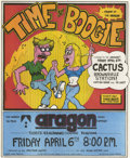 "Music Memorabilia:Posters, Cactus/Brownsville Station ""Time To Boogie"" Aragon Concert (SeaDog, 1973) Three bucks would have gotten you in the door at ..."