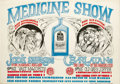 Music Memorabilia:Posters, The Charlatans Medicine Show Concert Poster (Berkeley Bonaparte,1967). From the pen of poster artist Rick Griffin comes thi...