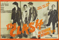 "Music Memorabilia:Posters, The Clash French Tour Concert Poster (CBS/Sony, 1977). In Punk Rockcircles, they were known as ""The Only Band That Mattered..."