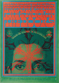 "Music Memorabilia:Posters, Country Joe and the Fish/Sparrow/Doors ""Break On Through"" AvalonConcert Poster FD-50 (Family Dog, 1967). Victor Moscoso cre..."