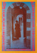 "Music Memorabilia:Posters, The Doors Matrix Concert Poster NR-10 (Neon Rose, 1967). This isthe ""orange border"" second printing, with beautiful graphic..."