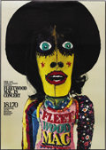 Music Memorabilia:Posters, Fleetwood Mac Munich Concert Poster (1970). This large, unusualposter comes from the last days of founder Peter Green's ten...