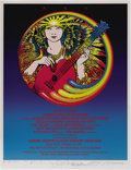 Music Memorabilia:Posters, A.R.T. Jerry Garcia Concert Poster, Signed by the Artists, #146/200(Artists Rights Today, 1989). This beautiful and colorfu...