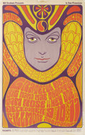 Music Memorabilia:Posters, Grateful Dead Fillmore Concert Poster BG-41 (Bill Graham Presents,1966). The influence of the Art Nouveau posters of France...