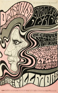 Music Memorabilia:Posters, Grateful Dead Fillmore West Concert Poster BG-51 (Bill GrahamPresents, 1967). This is a very tough-to-find first printing o...