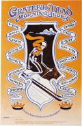 """Music Memorabilia:Posters, Grateful Dead """"Trip and Ski"""" Kings Beach Bowl Concert Poster (1968). Go tripping down the sound of a mountain to the music o..."""