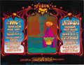 "Music Memorabilia:Posters, Grateful Dead Fillmore West Concert Poster BG-133 (Bill GrahamPresents, 1968). This attractive image, called ""Bloom,"" was d..."