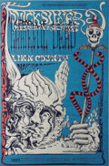 Music Memorabilia:Posters, Grateful Dead Fillmore West Concert Poster BG-144 (Bill GrahamPresents, 1968). A very trippy poster from the pen of Lee Con...
