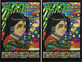 Music Memorabilia:Posters, 4:20 Hemp Festival Signed Poster (Cannabis Action Network, 1999).This unique, limited poster is from what used to be a regu...