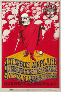 "Music Memorabilia:Posters, Jefferson Airplane ""A Benefit For The Grateful Dead"" Concert PosterBG-222 (Bill Graham Presents, 1970). This is a poster th..."