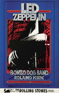 Music Memorabilia:Posters, Led Zeppelin Winterland Concert Poster BG-199 (Bill GrahamPresents, 1969). A stunning copy of this hard to find poster oft...