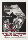 "Music Memorabilia:Posters, Pink Floyd San Diego Concert Poster (Direct Productions, 1971) Abizarre Randy Tuten design, featuring ""War of the Worlds"" f..."